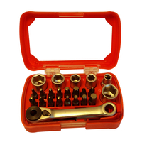 24Pcs Bits Set with Ratchet Wrench