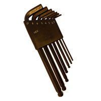 7Pcs Medium Arm Hex Key with Ball End
